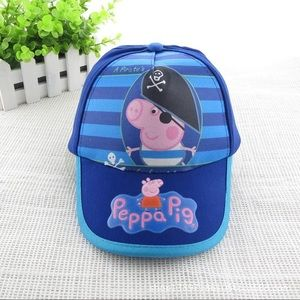 3/$20 - New George the Pirate - Peppa Pig Hat